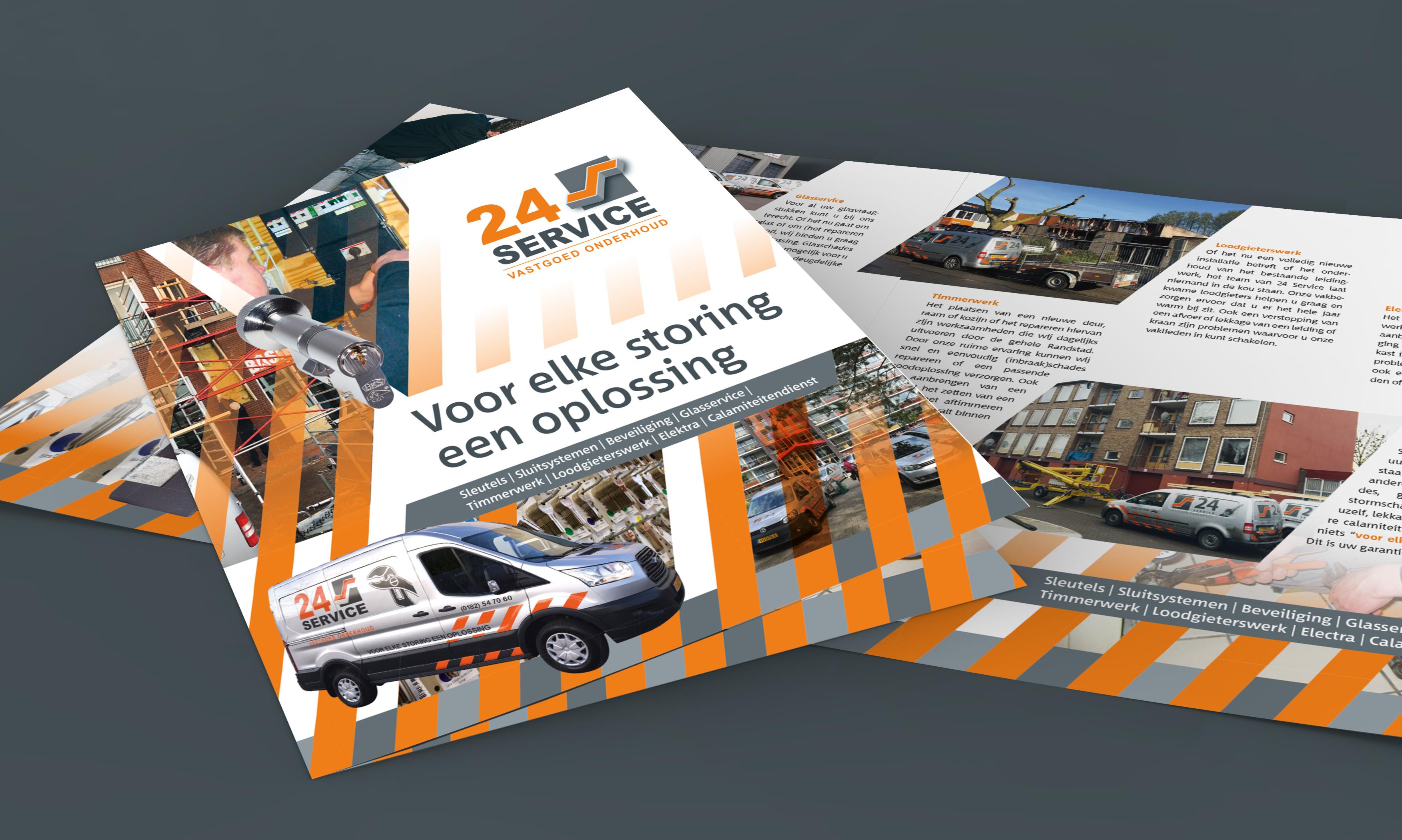 24 service flyers