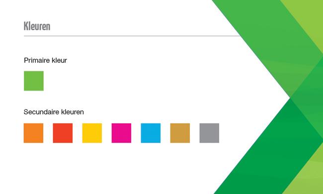 verpakking kleuren