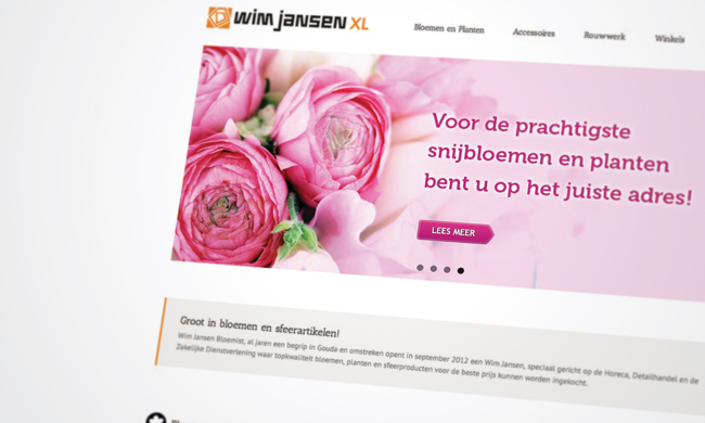 website bloemenwinkel