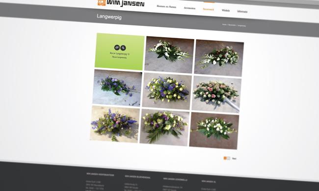 website bloemstukken