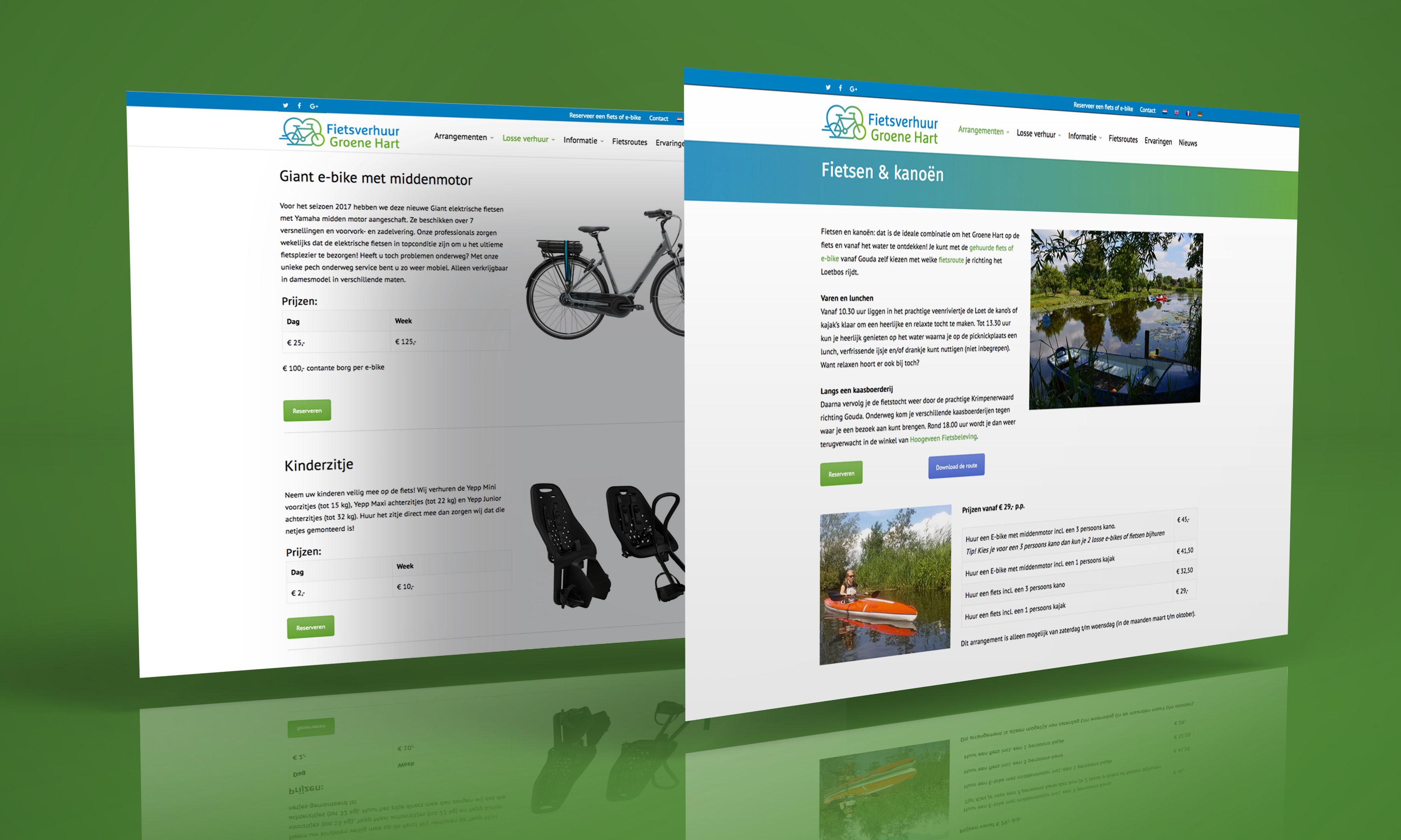 fietsverhuurgroenehart.nl