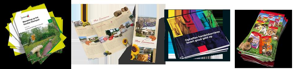 Folders en Brochures laten ontwerpen