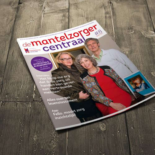 De Mantelzorger centraal magazine