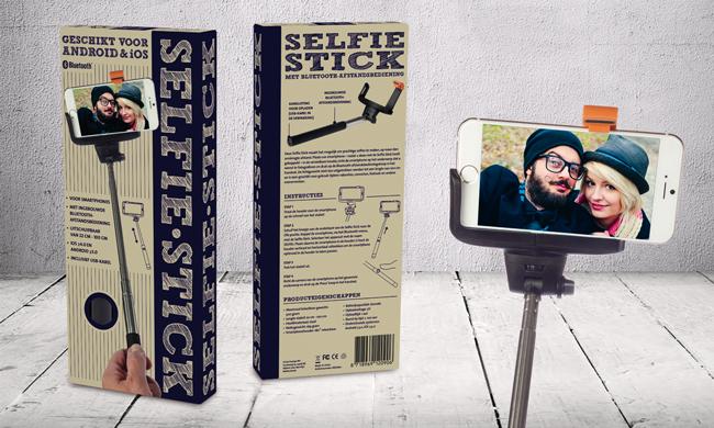 selfie stick verpakking