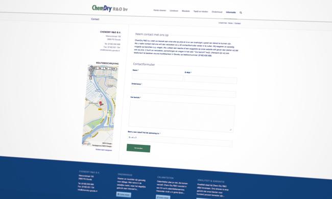 website reiniging meubels