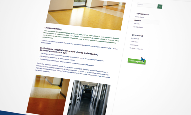 website reiniging vloeren